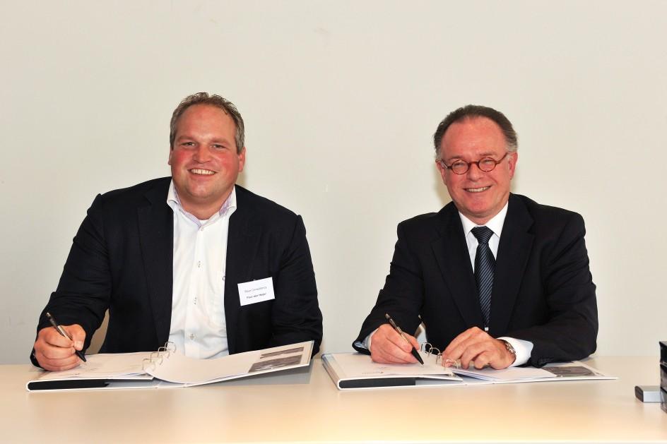 Ondertekening raamovereenkomst TU Delft