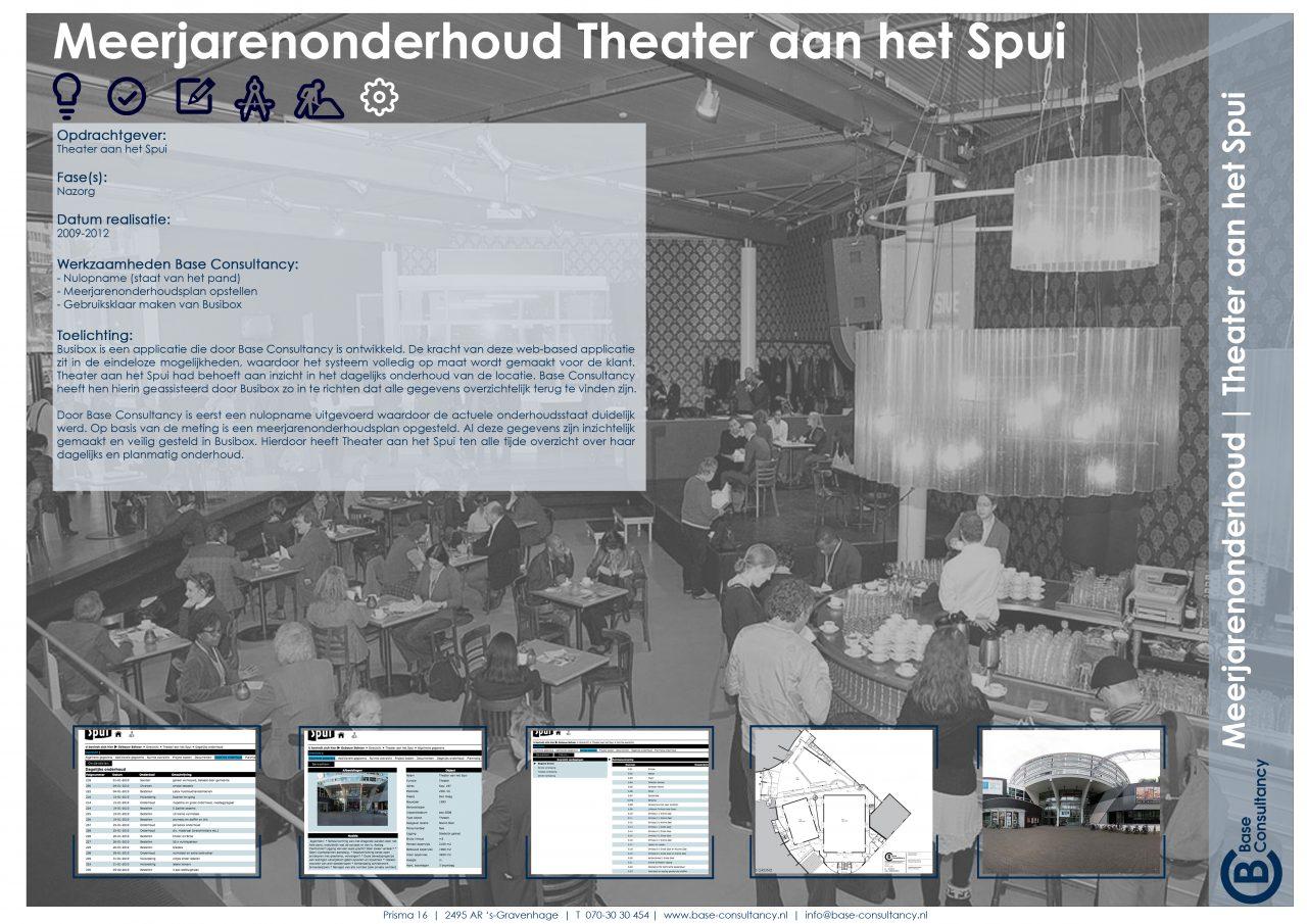 Meerjarenonderhoudsplanning Theater aan het Spui