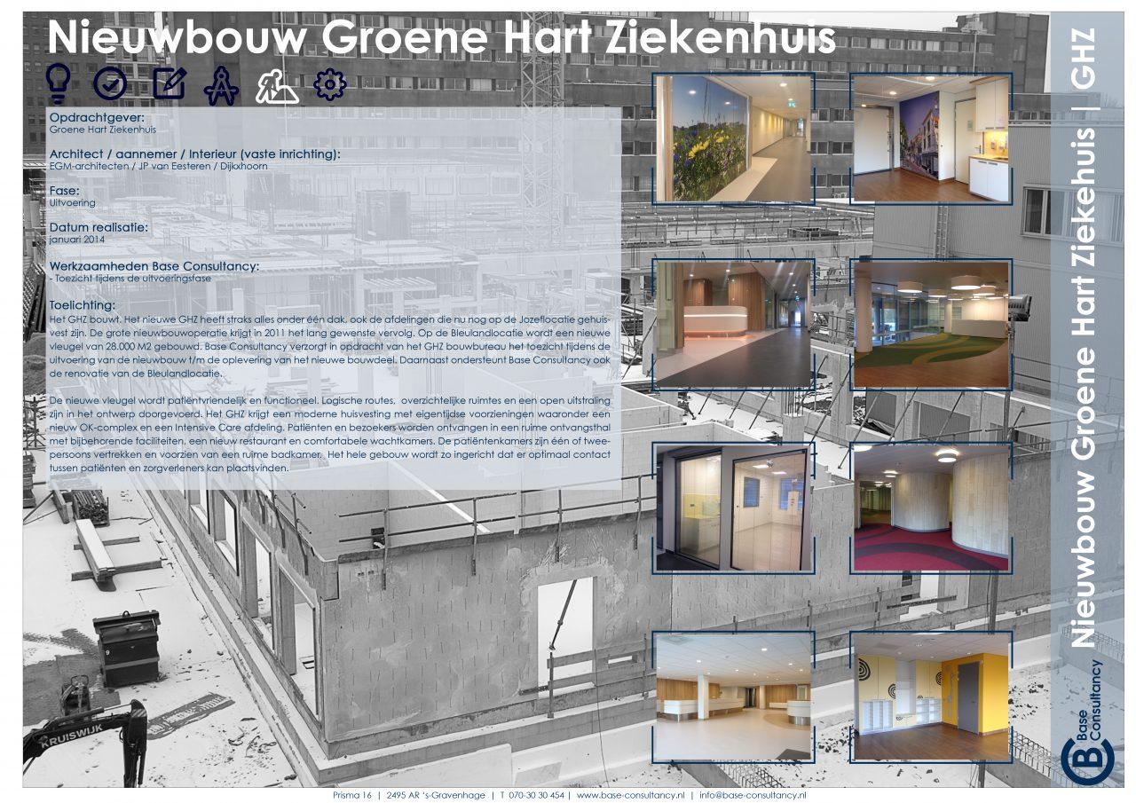 Nieuwbouw Groen Hart Ziekenhuis
