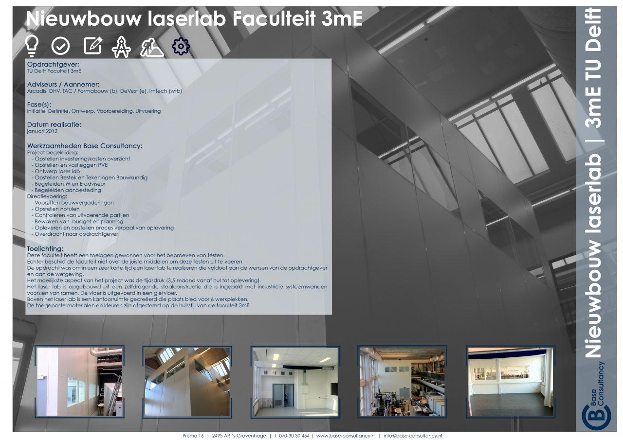 Nieuwbouw laserlab TU Delft