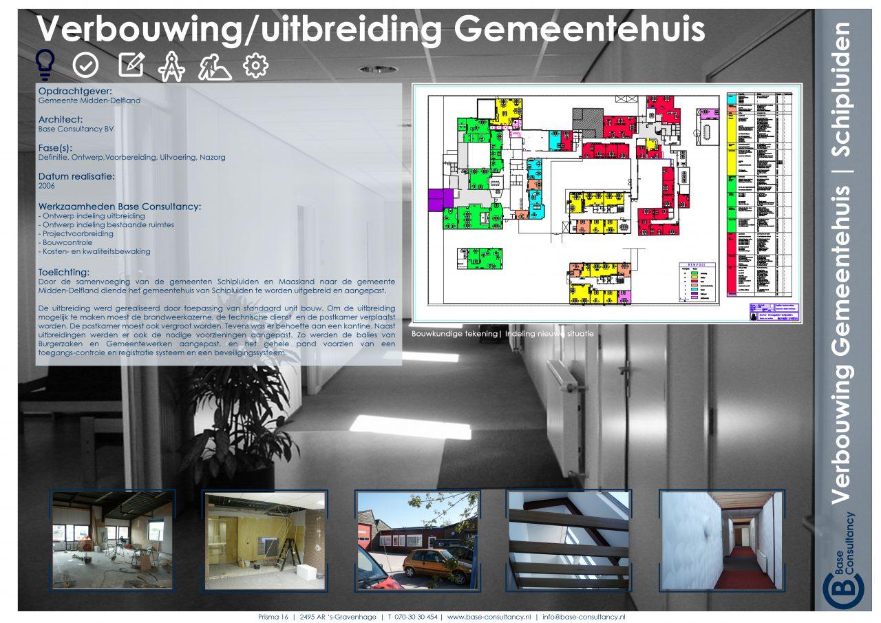Uitbreiding gemeentehuis Schipluiden