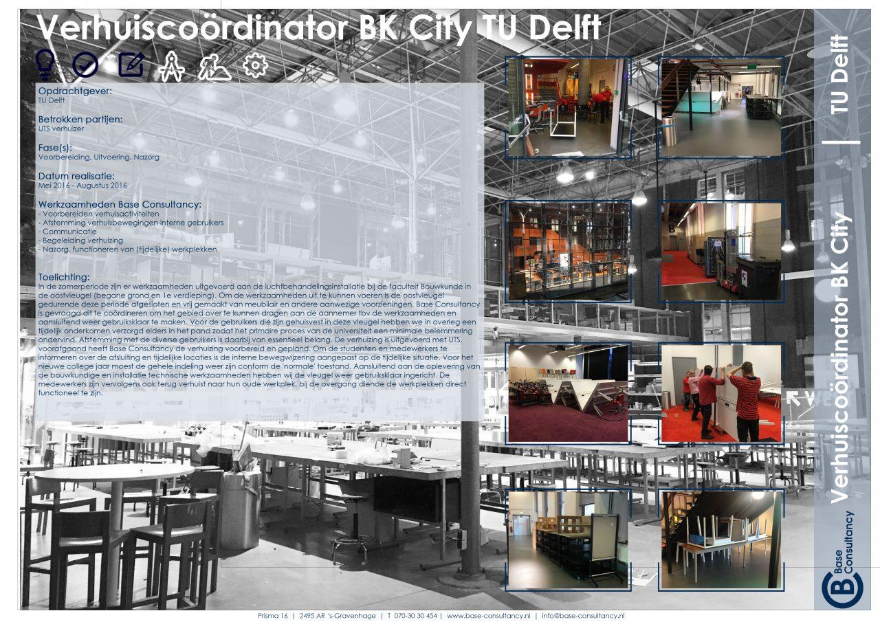 Verhuiscoördinator BK City TU Delft
