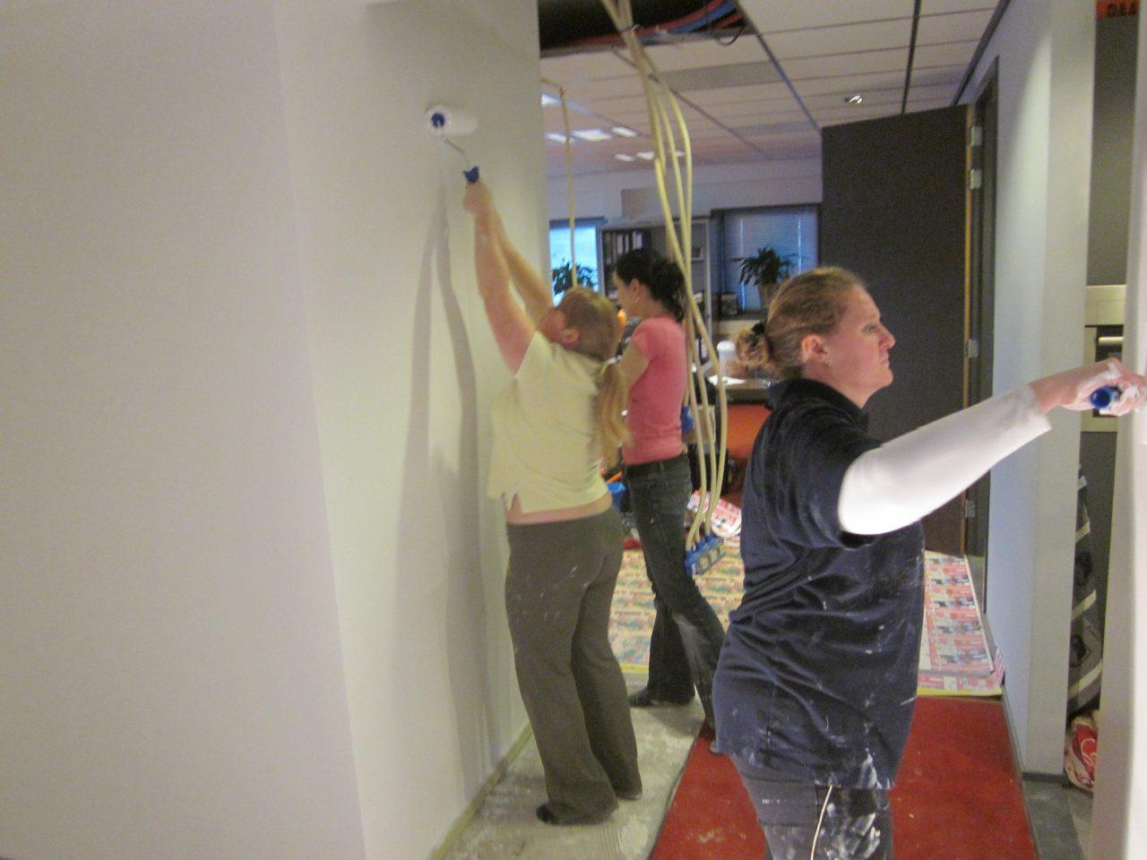 Schilderen kantoor Prisma 16